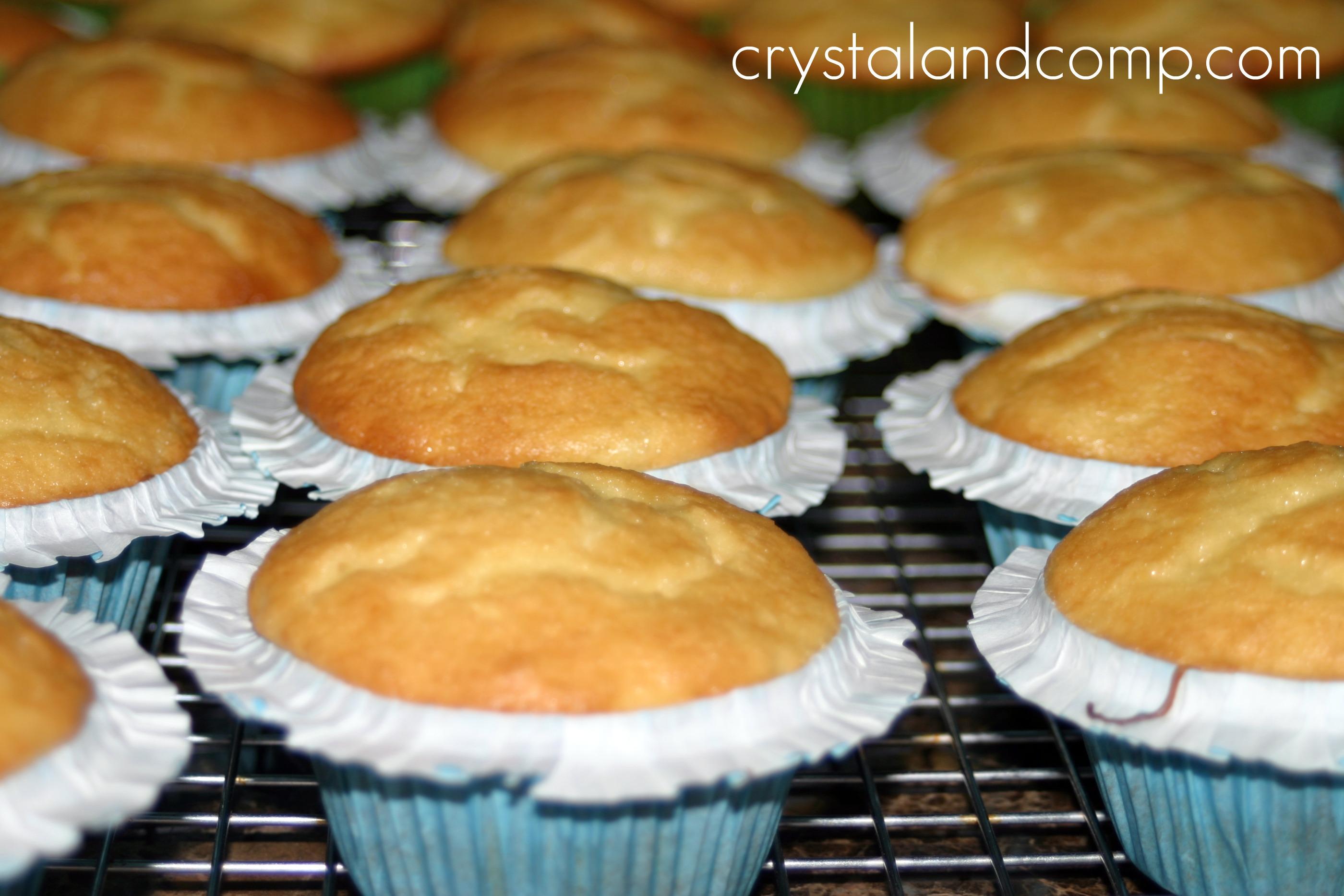 This recipe makes 24 standard size cupcakes. & Homemade Cupcake Recipe Aboutintivar.Com