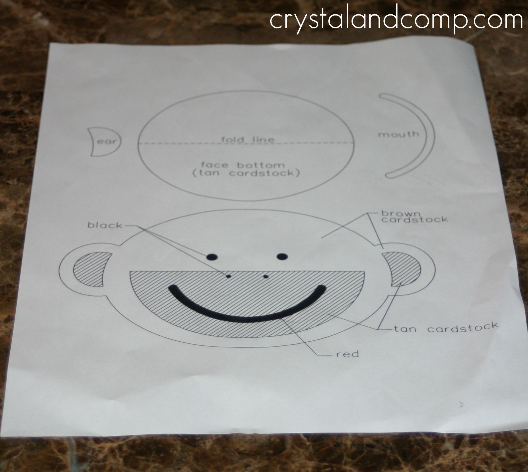 How to Make Monkey Birthday Party Invitations | CrystalandComp.com
