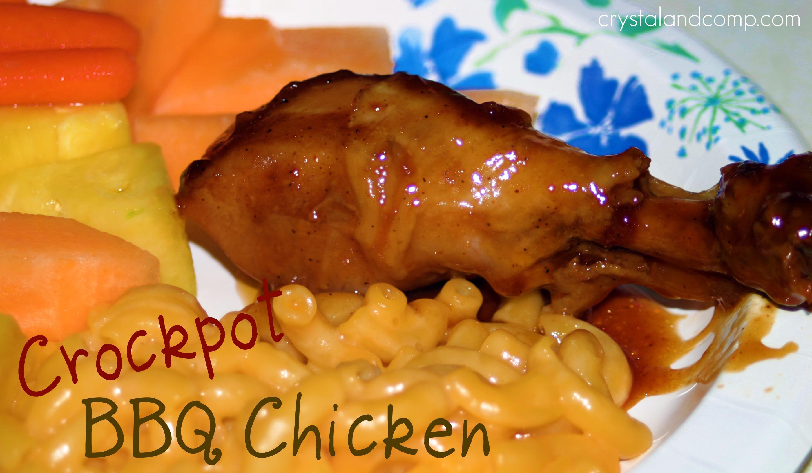 Easy Recipes Crockpot Bbq Chicken Crystalandcomp Com