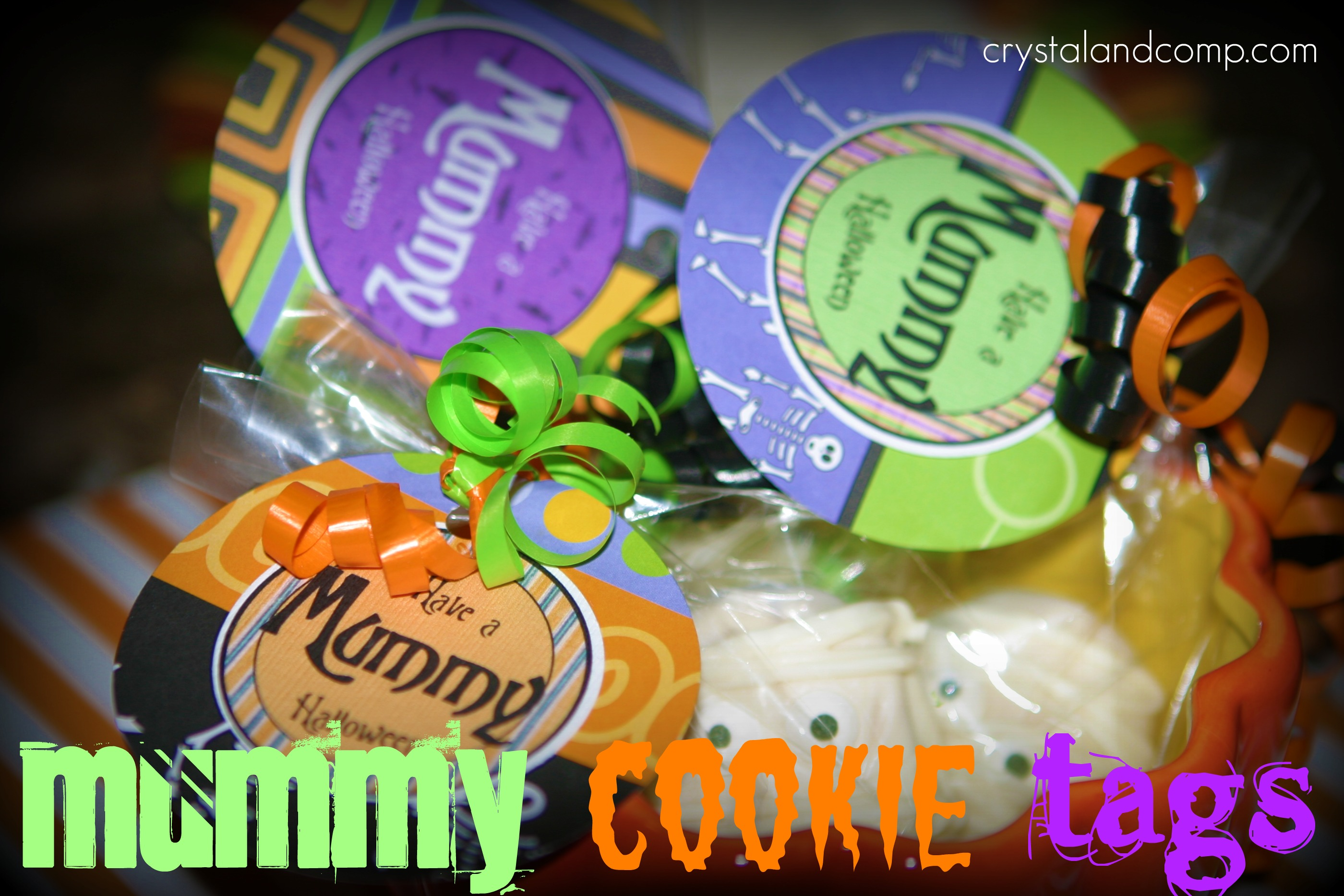 photograph regarding Halloween Craft Printable named Halloween Craft Recommendations: How in the direction of Crank out Mummy Cookies (Cost-free