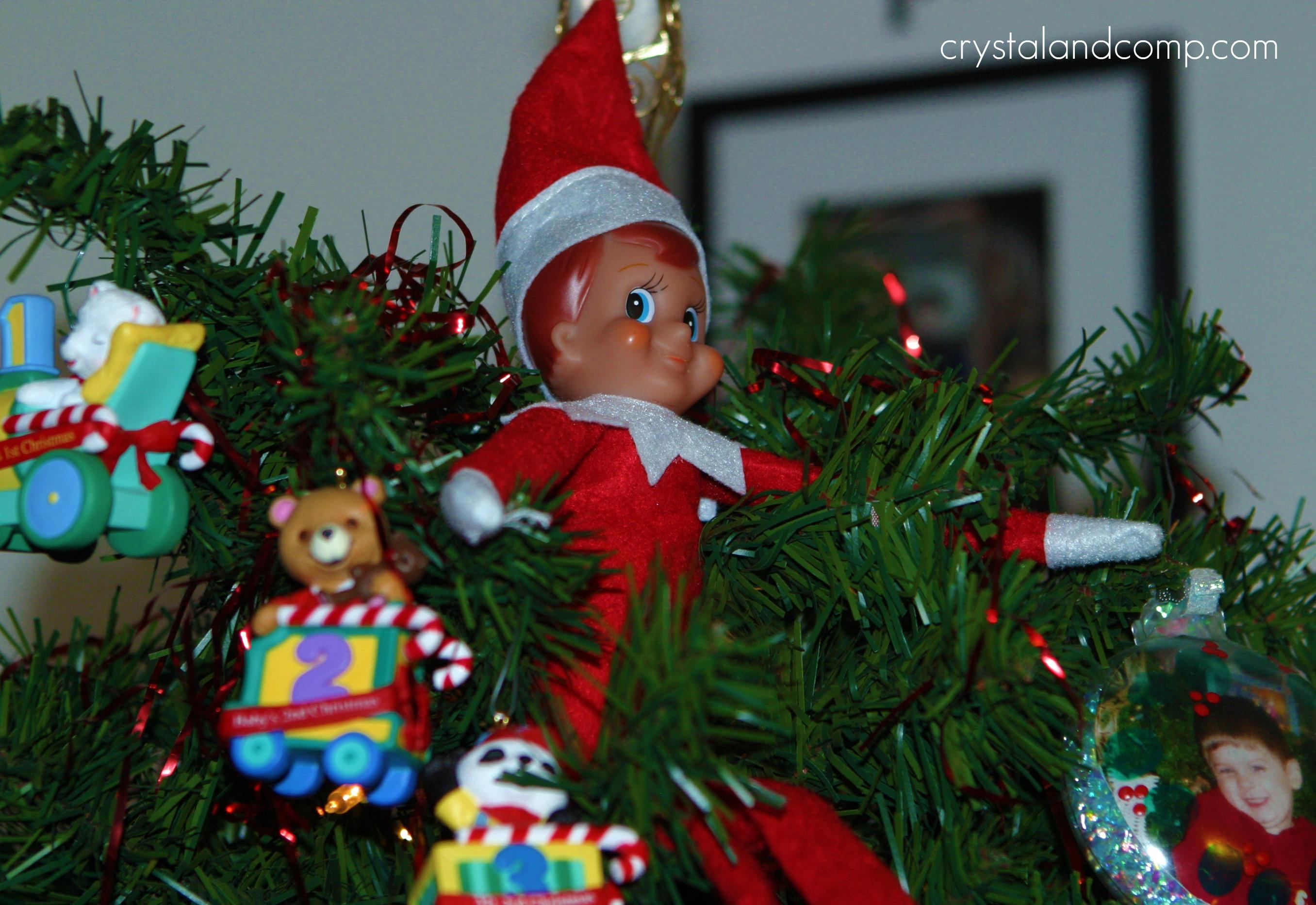 A Busy Little Elf   CrystalandComp.com