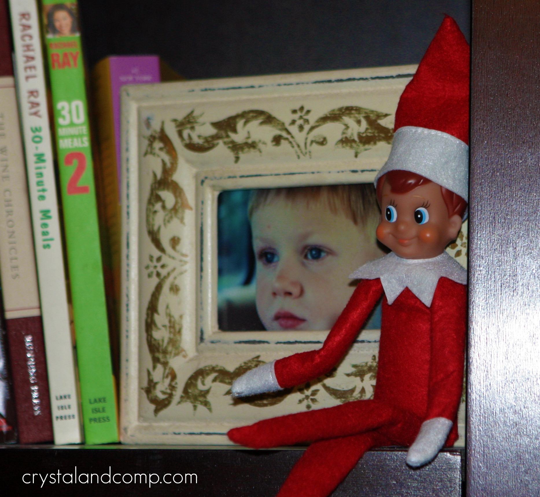 the elf on the shelf stole christmas