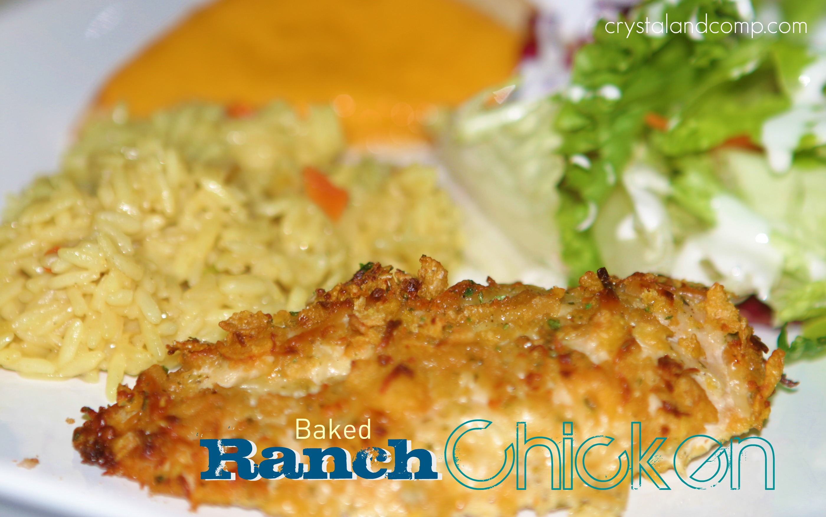 Easy Recipes Baked Ranch Chicken