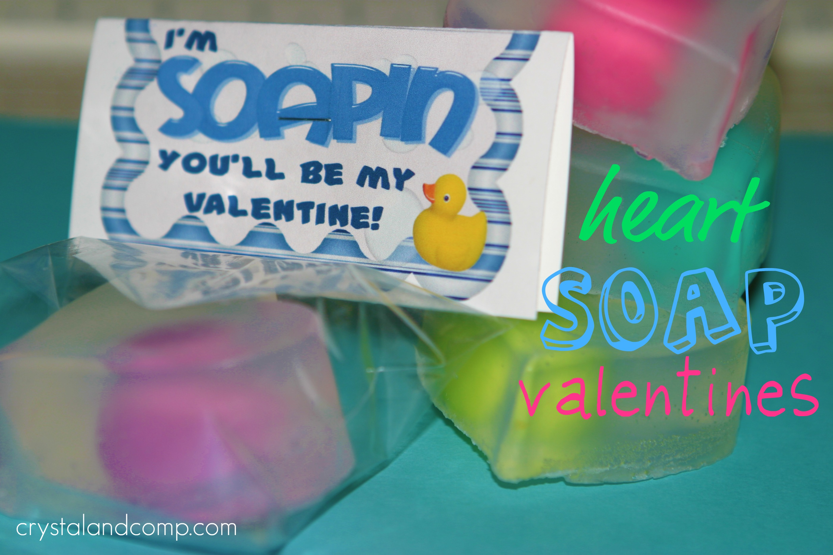 Valentine Crafts: Homemade Soap