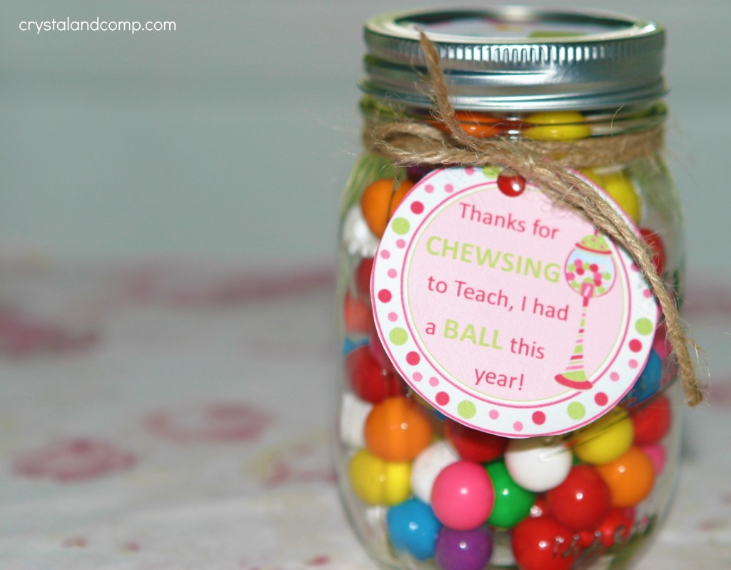 Teacher appreciation gift ideas bubble gum teacher gift negle Gallery