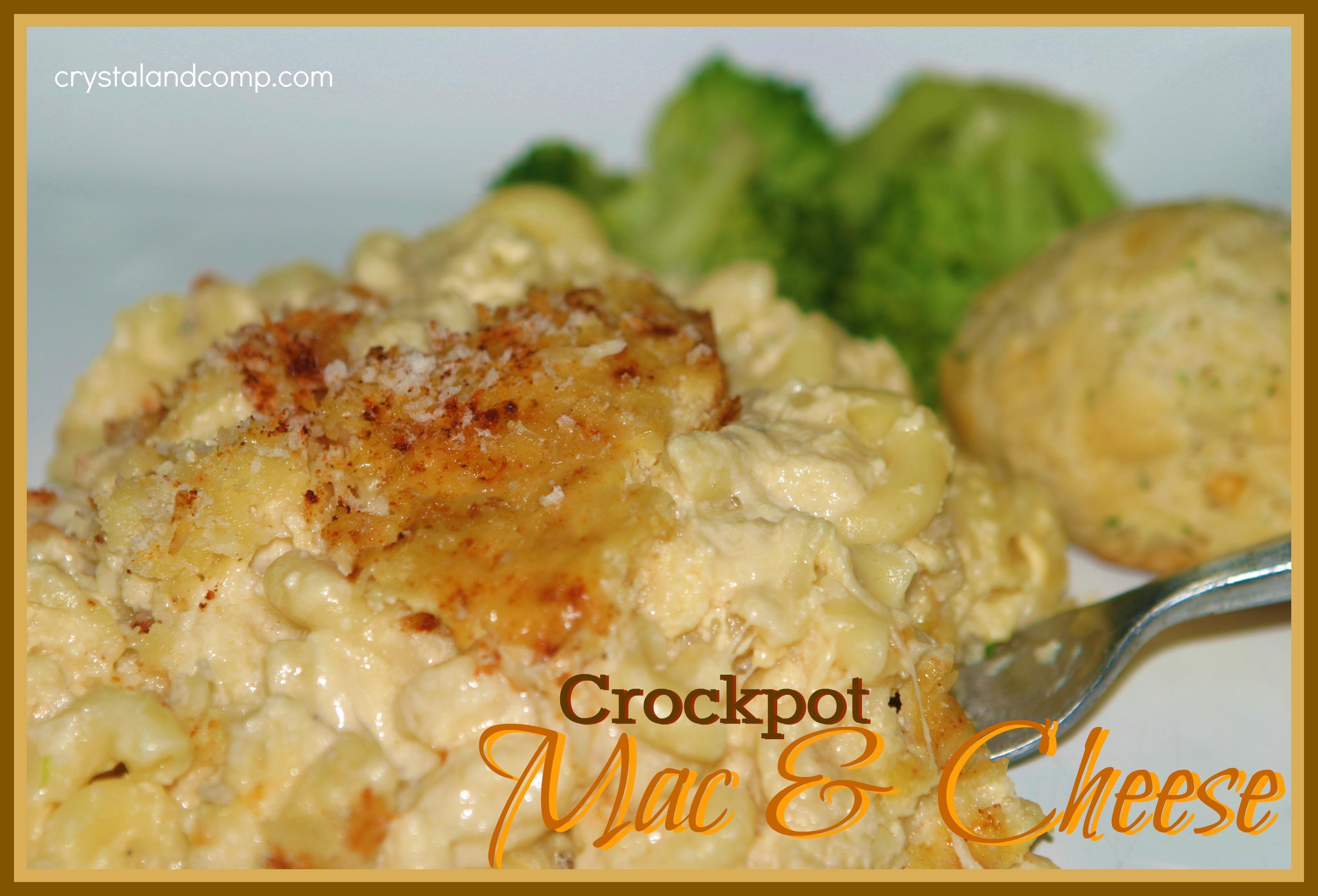 Easy Recipes: Crockpot Mac and Cheese