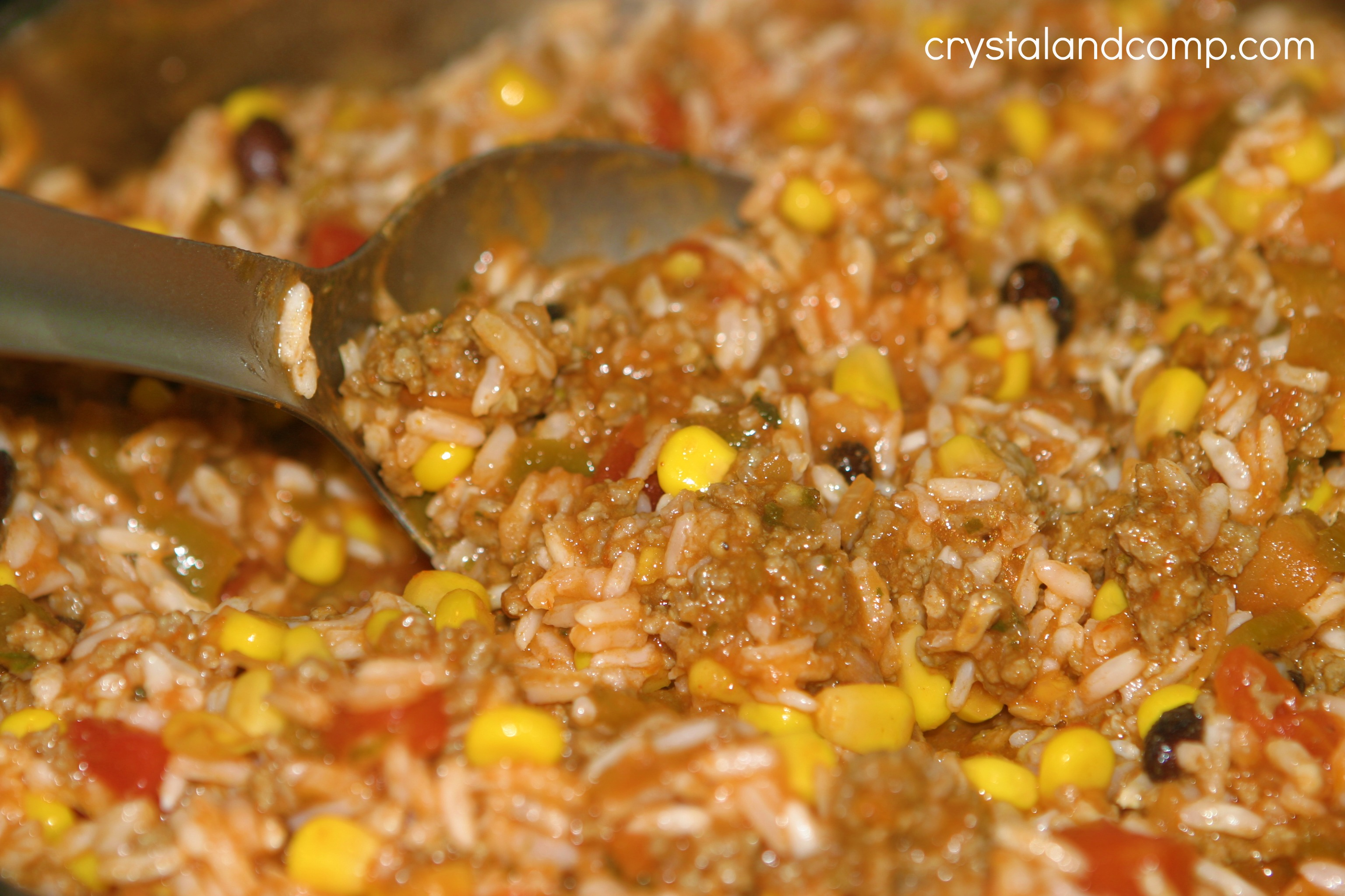 Easy recipes beefy mexican rice a family recipe crystalandcomp beef recipes forumfinder Choice Image