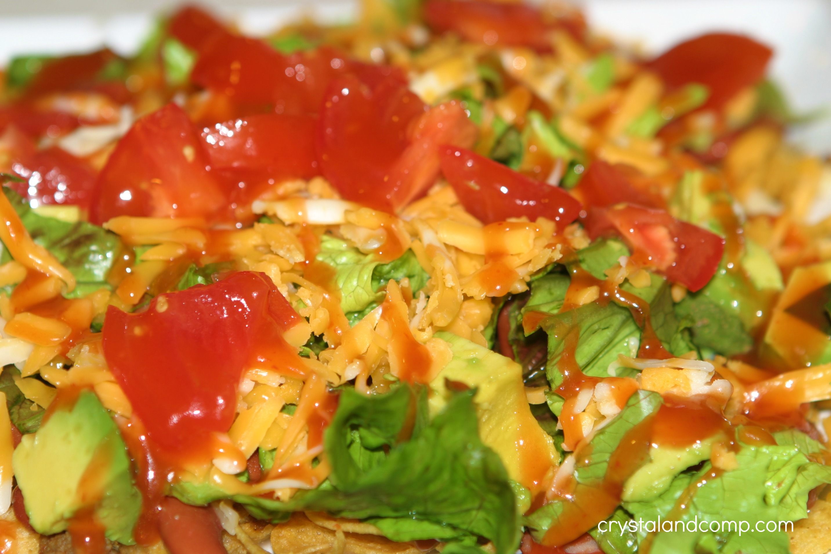 Easy taco salad 30 minute meal crystalandcomp mix forumfinder Gallery
