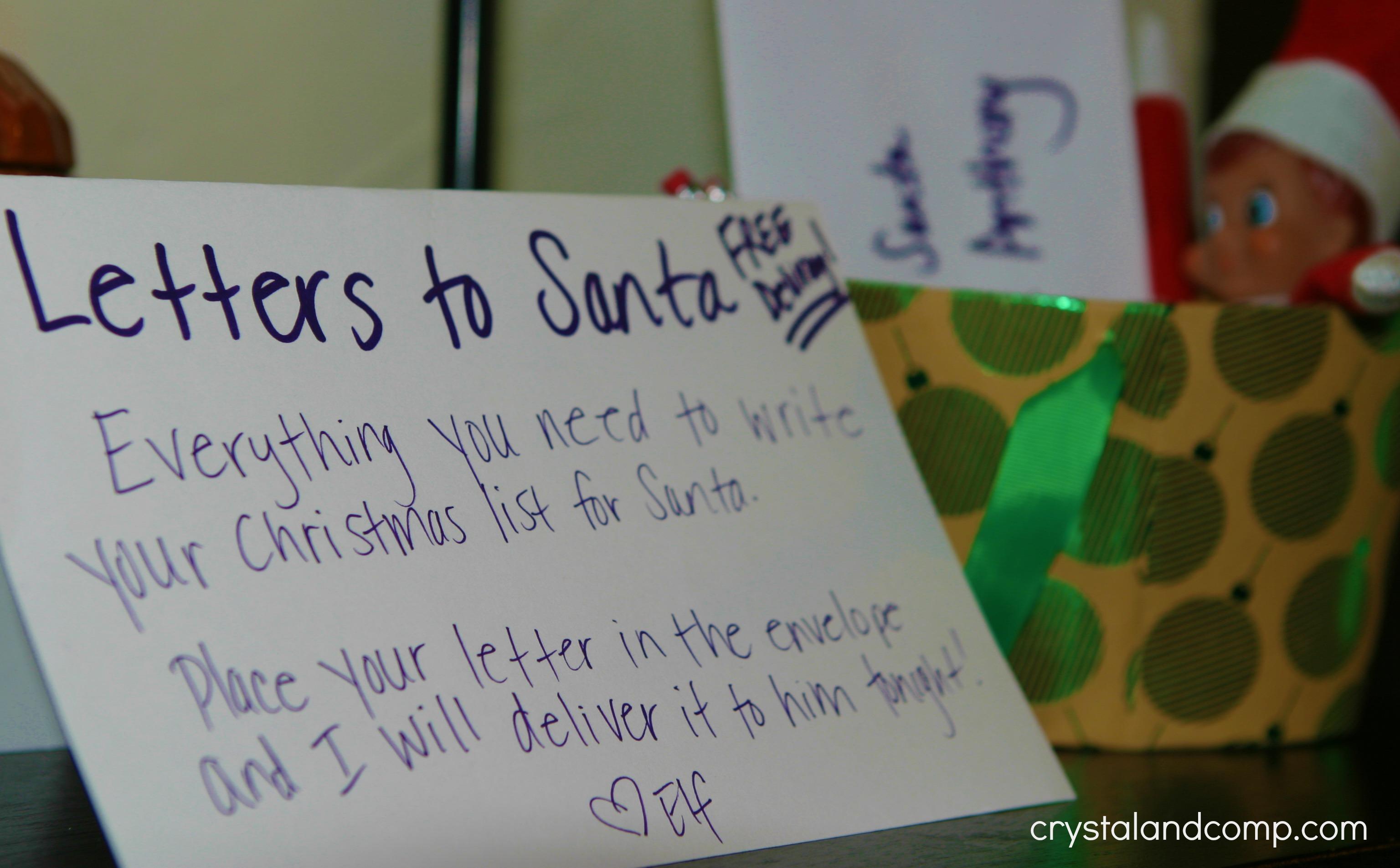 elf on the shelf dear santa crystalandcomp com