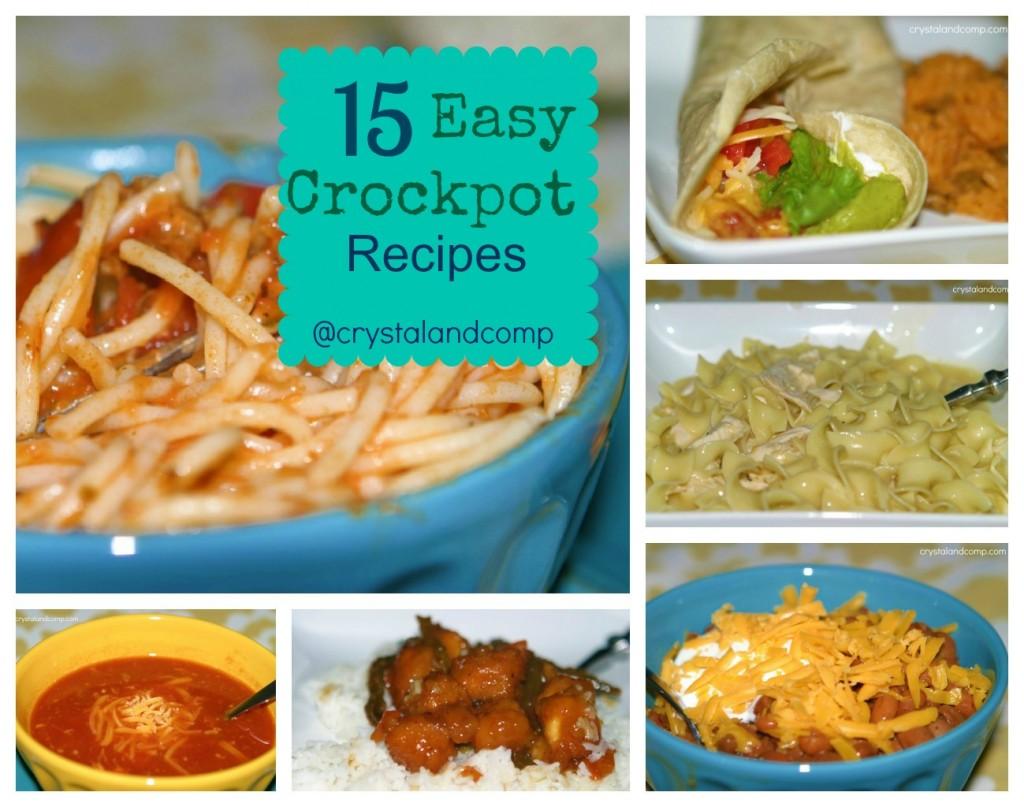 easy crockpot recipes