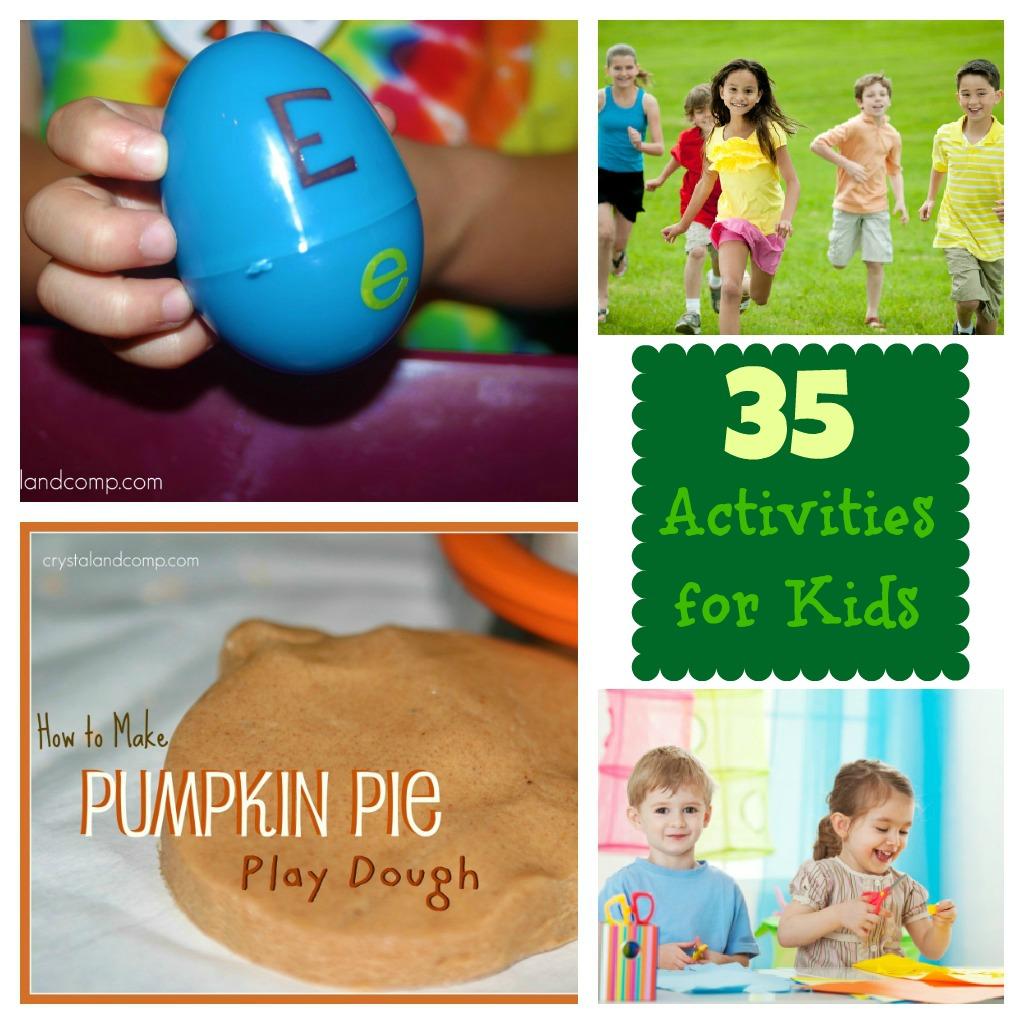35 activities for kids
