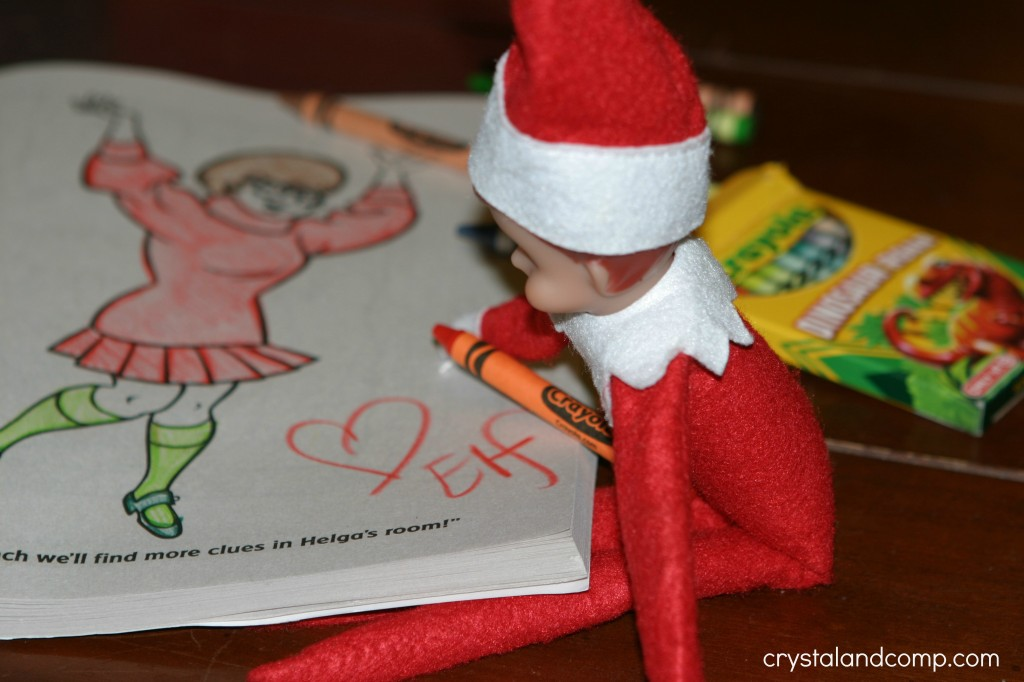 Elf on the Shelf He is Colorful  CrystalandCompcom