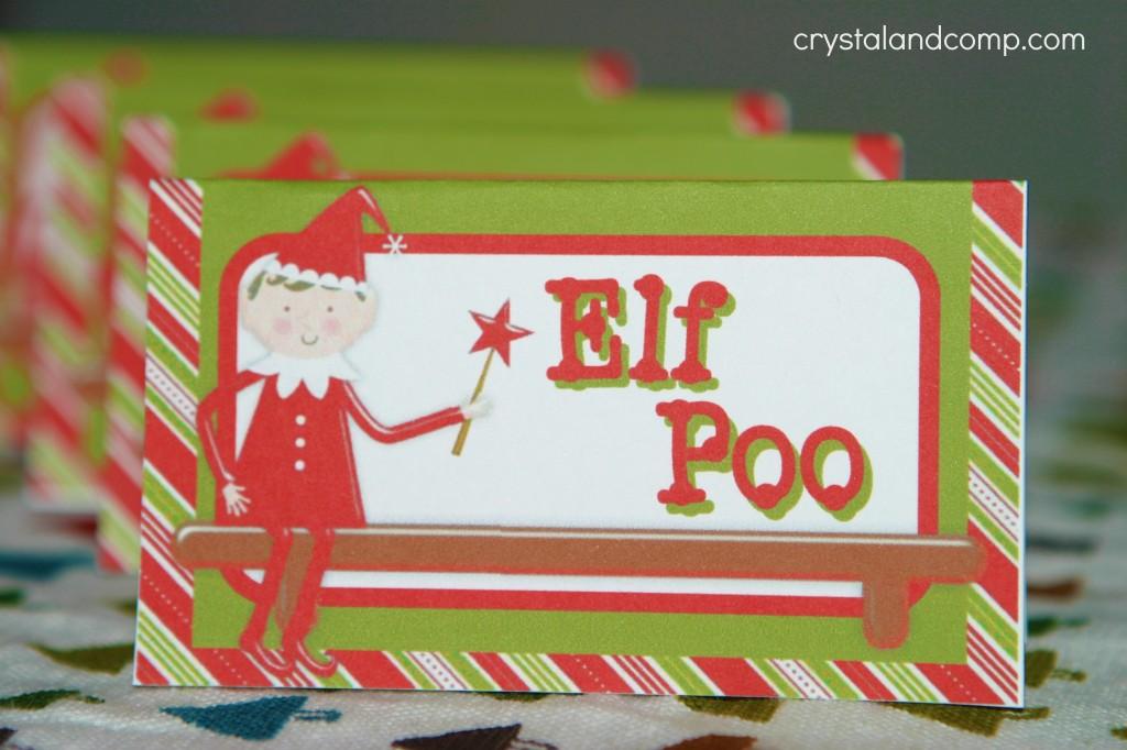 elf on the shelf poo