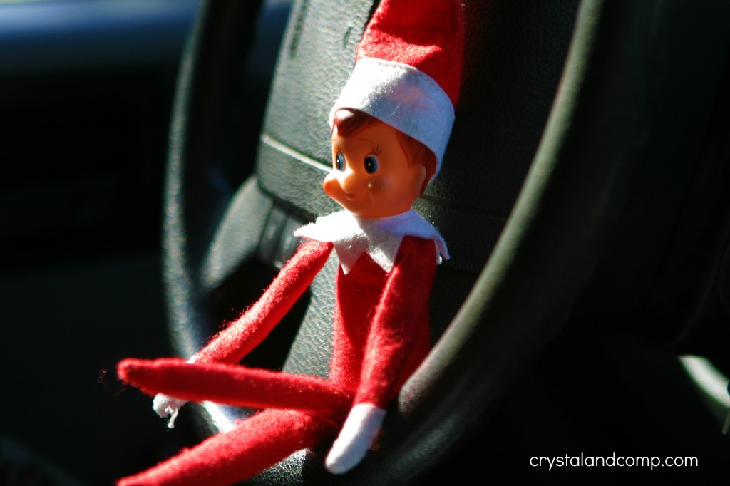 elf on the shelf roadtrip