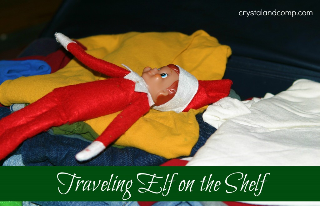elf on the shelf suitcase