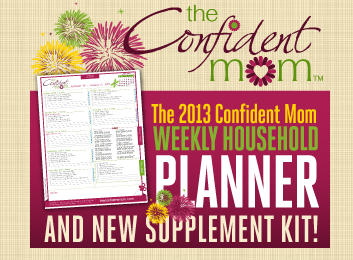 Busy mom planner by the confident mom get your household organized mom planner fandeluxe Choice Image