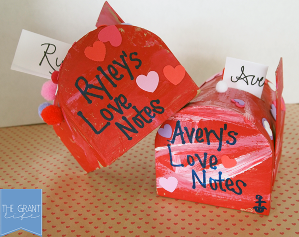 Activities for Kids - East Valentines mailboxes