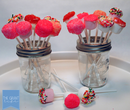 Marshmallow Valentines Pops 1