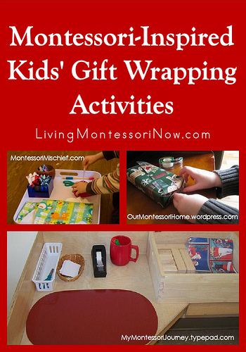 Montessori-Inspired-Kids-Gift-Wrapping-Activities