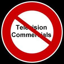 No commercials