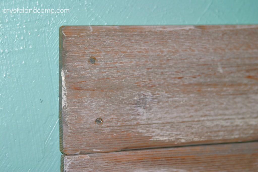cedar headboard