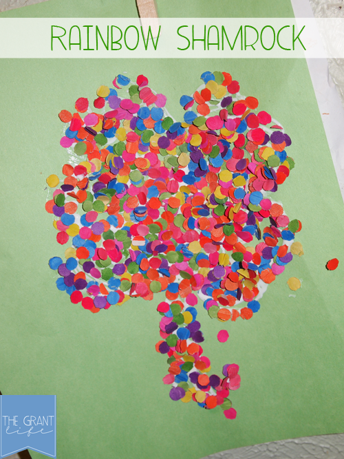 Activities for Kids: Rainbow Shamrocks