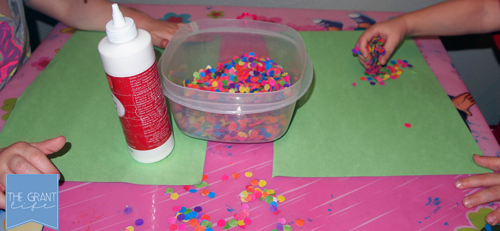 Activities for Kids: Rainbow Shamrocks for Toddlers