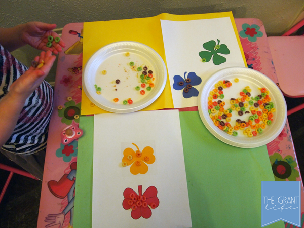 Activities for Kids - Shamrock Color Matching for Kids