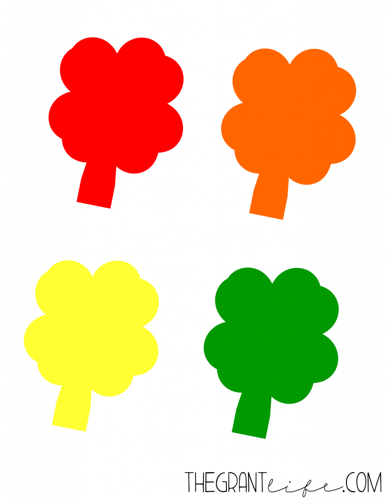 Activities for Kids - Shamrock Printable
