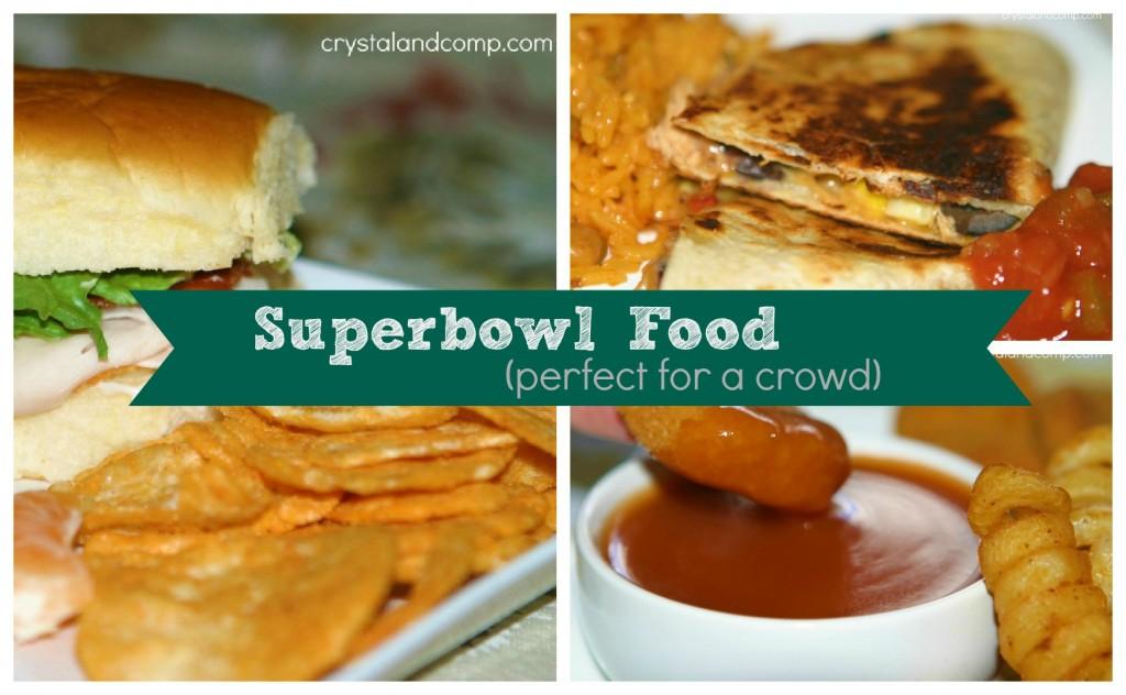 superbowl sunday food