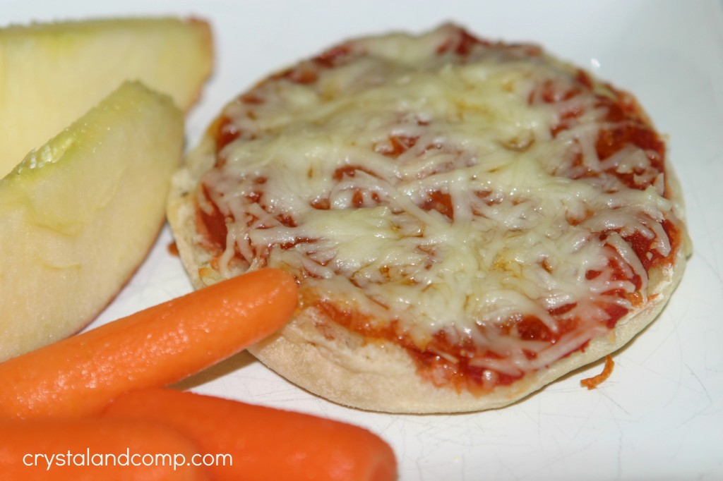 easy recipes english muffin kids pizza