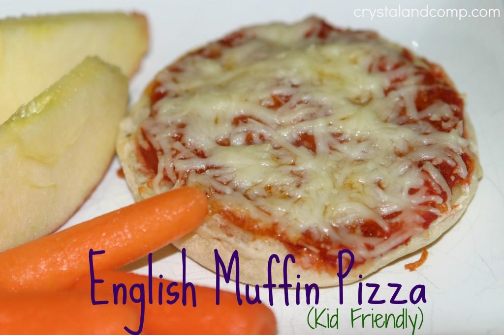 english muffin pizza kid friendly