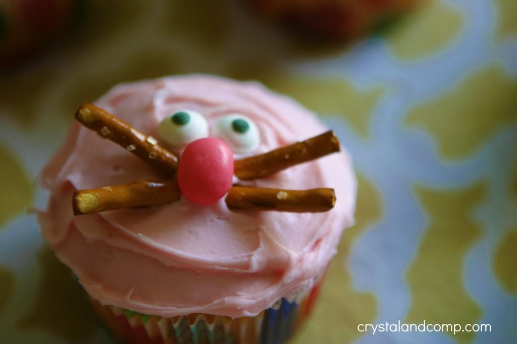 homemade bunny cupcakes