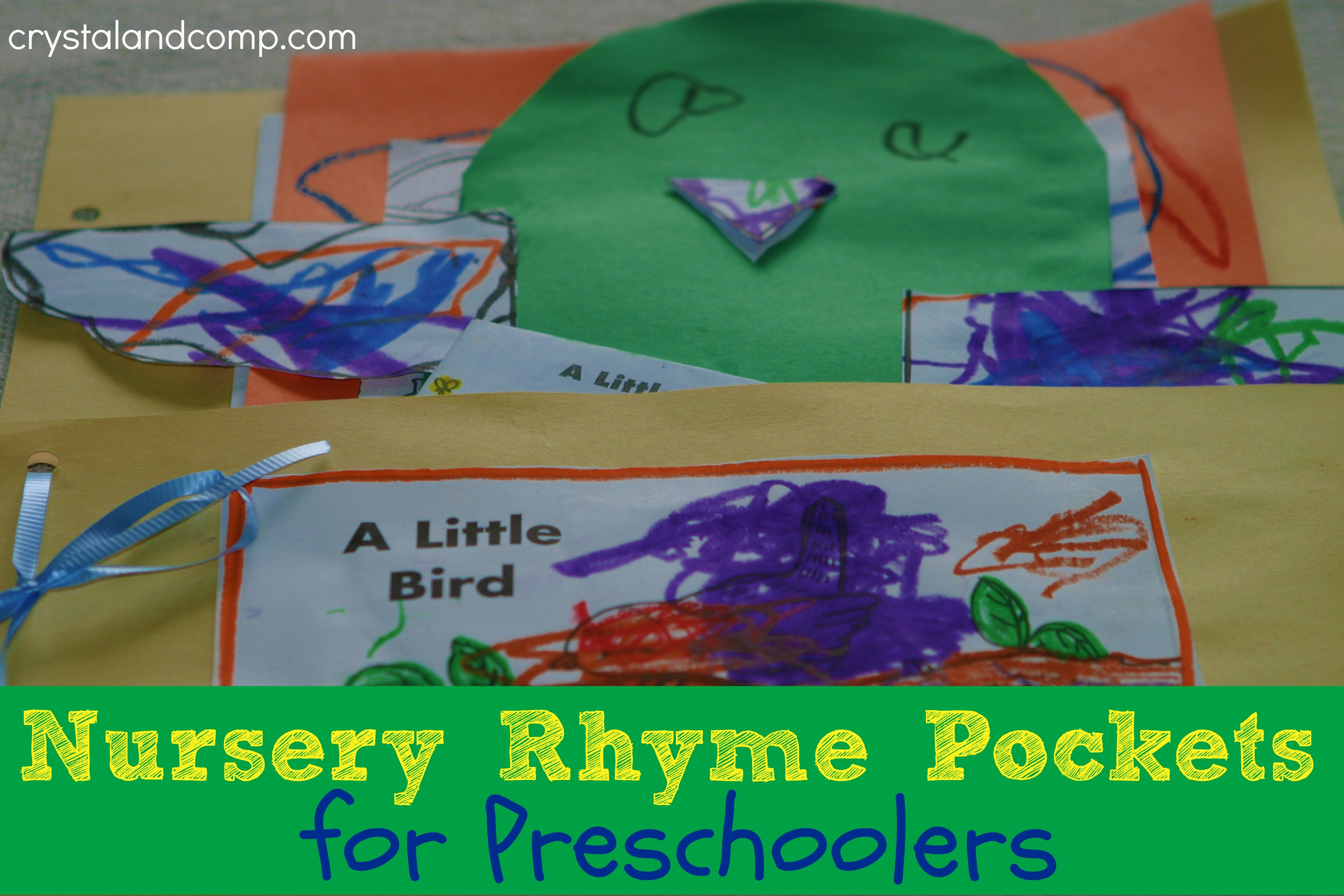 Nursery Rhyme Pockets For Preschoolers
