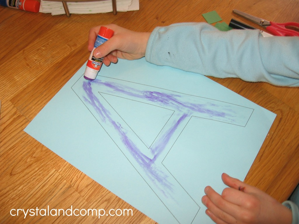 A is for alligator preschool craft (3) - crystalandcomp