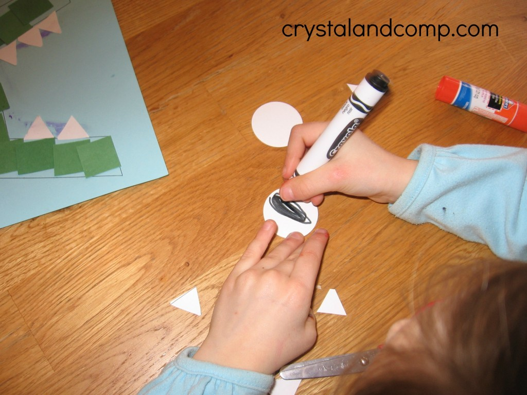 A is for alligator preschool craft (6) - crystalandcomp