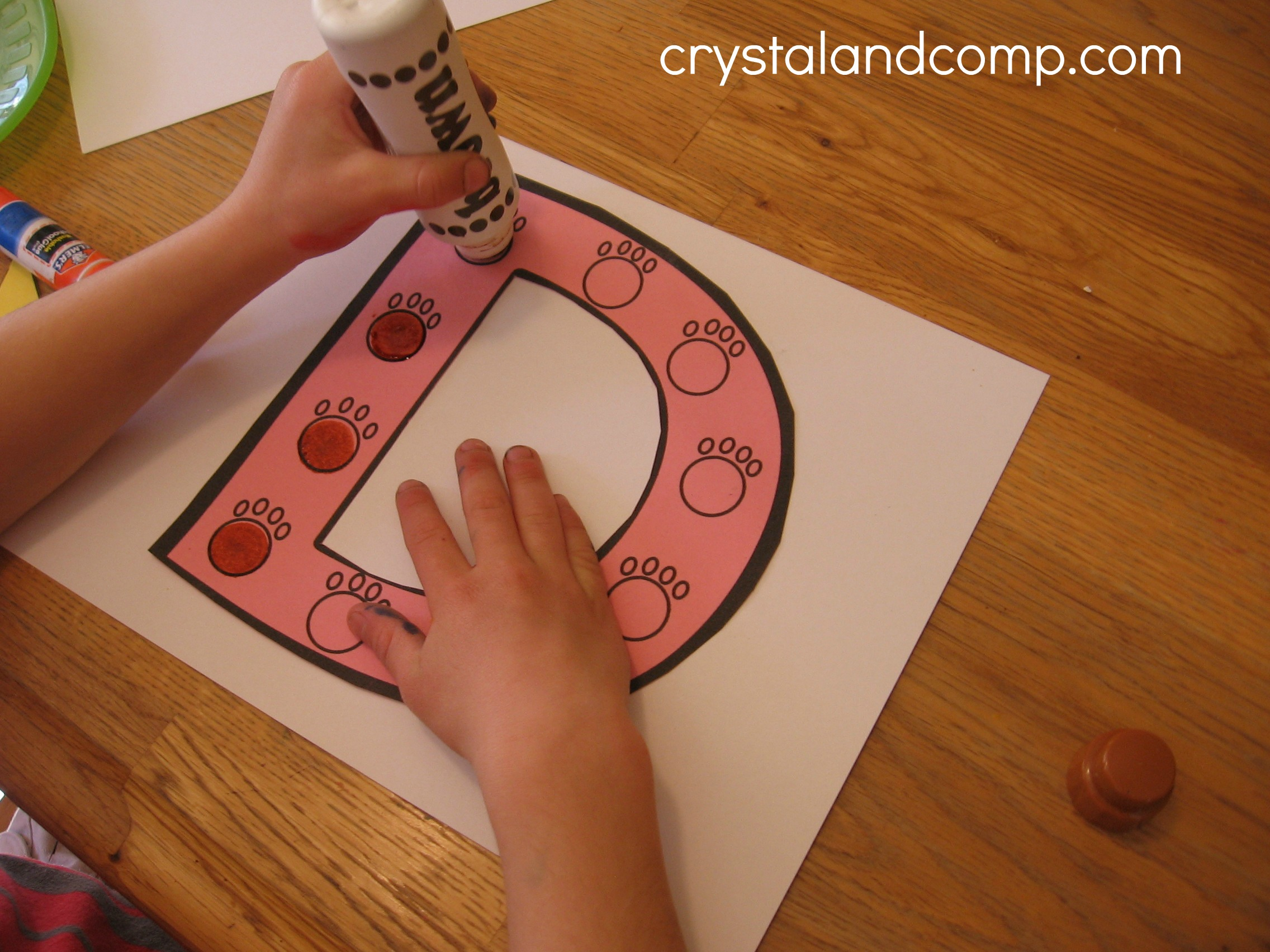 Dog Craft Ideas For Kids Part - 43: D Is For Doghouse
