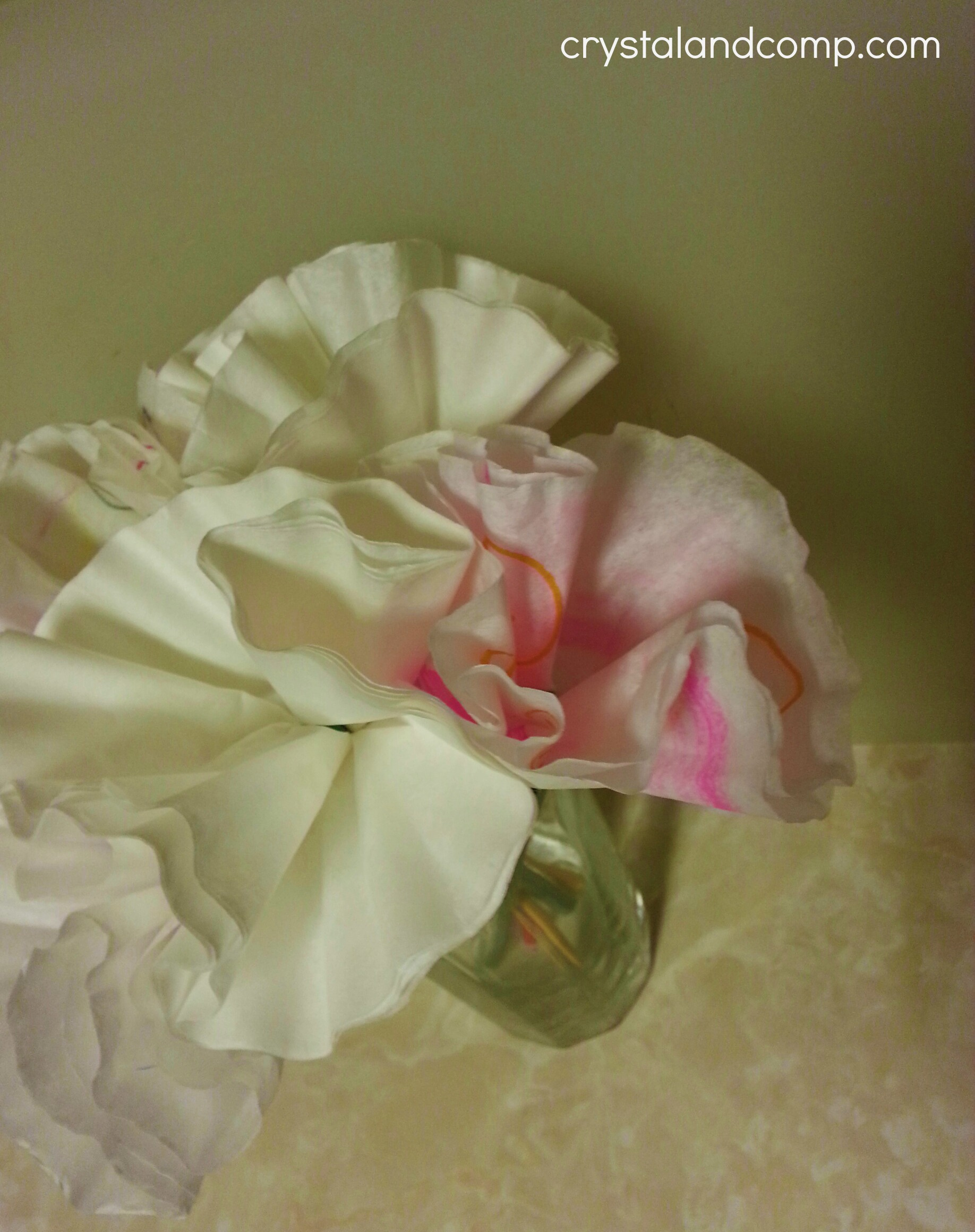 Teacher appreciation gift ideas handmade flowers how to make paper flowers using coffee filters mightylinksfo