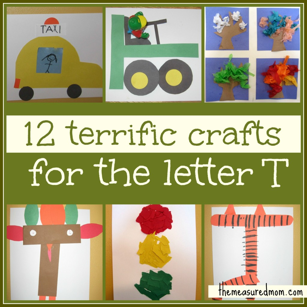 preschool crafts for the letter t