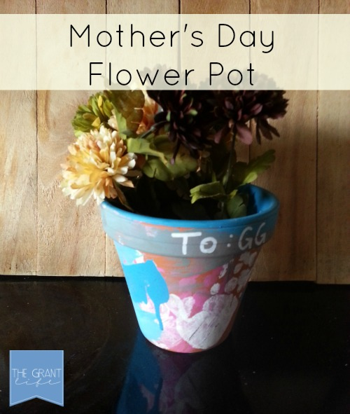 Activities for kids create a custom flower pot for mothers day