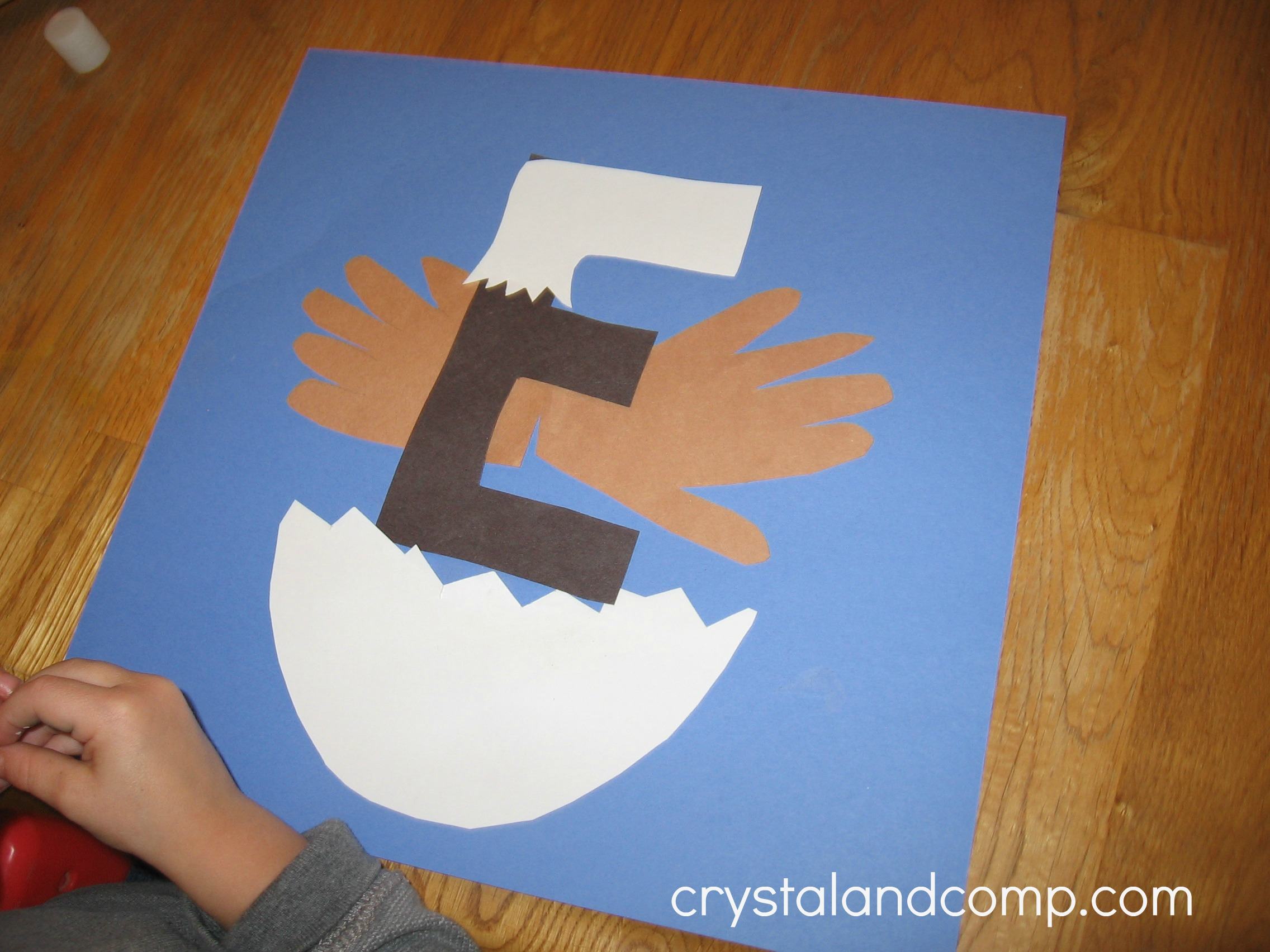 Letter Of The Week A Preschool Craft For The Letter E