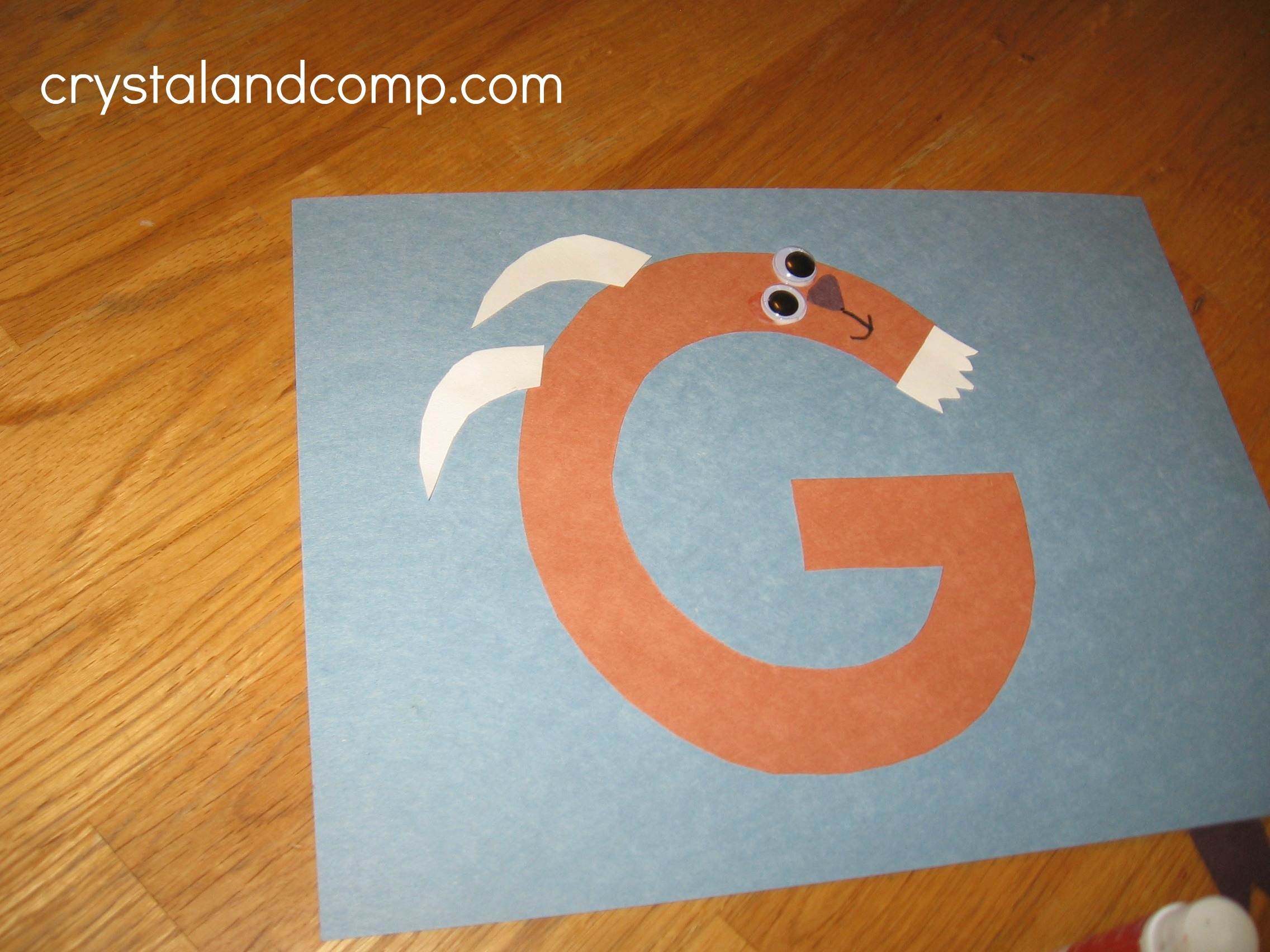 Letter fo the Week Preschool Craft: G is for Goat