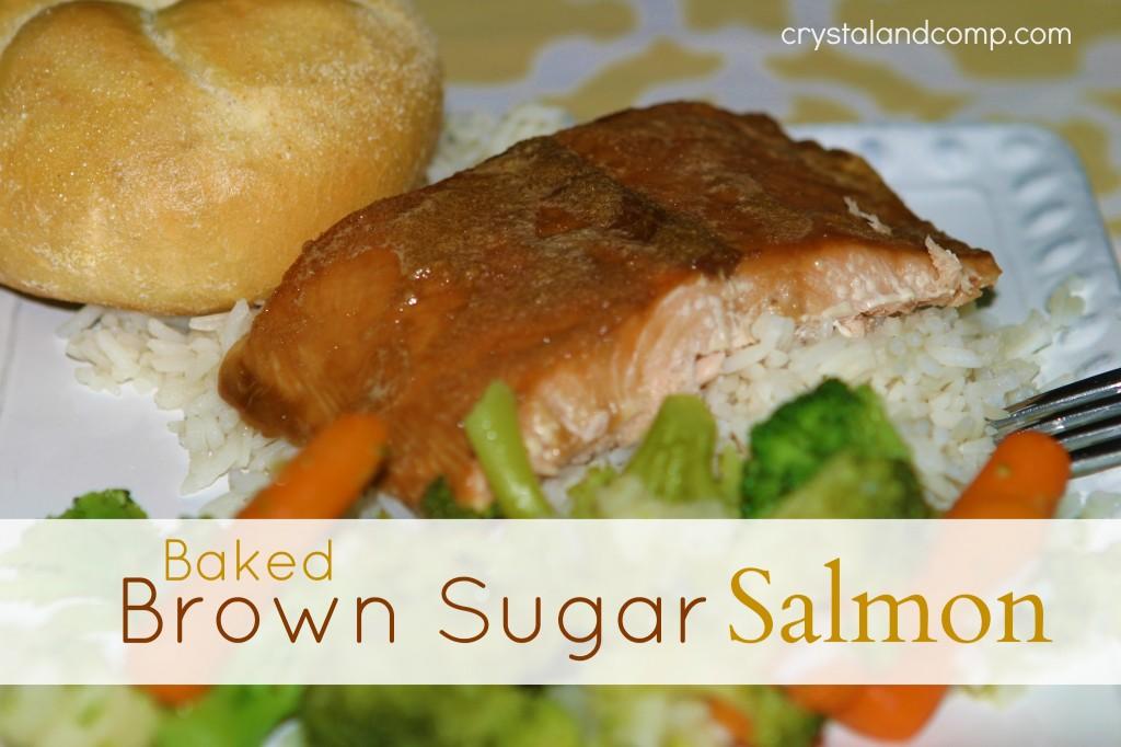 baked brown sugar salmon