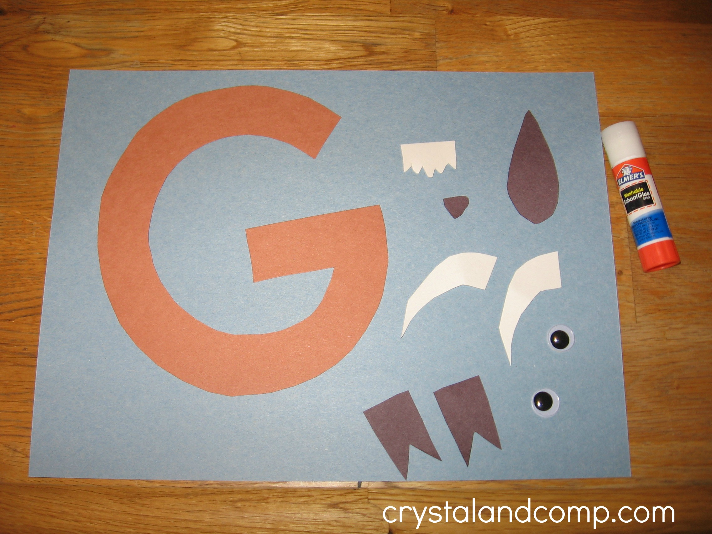 G Is For Goat A Letter Of The Week Preschool Craft on Letter M Crafts Preschoolers