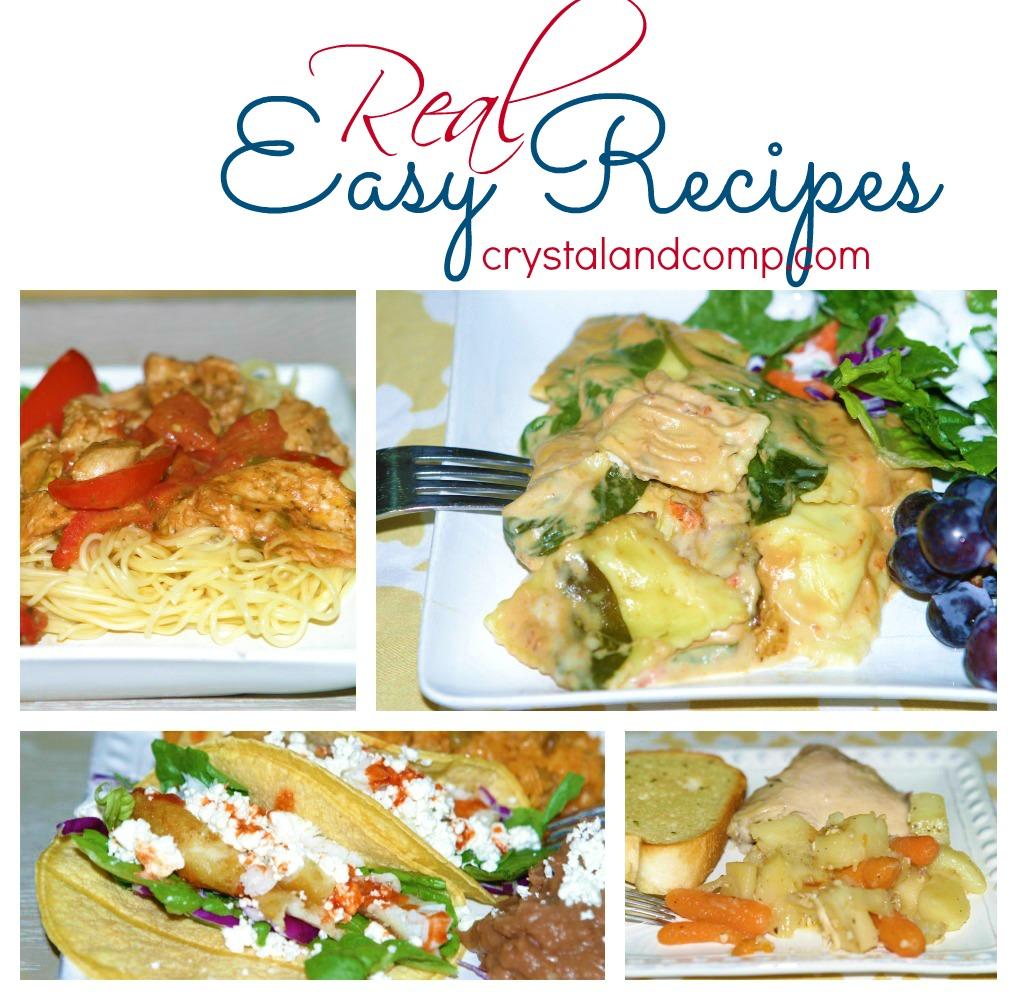 real easy recipes