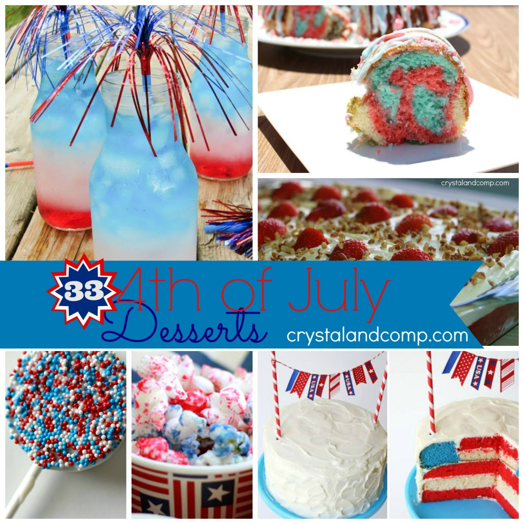 fourth of july food (33 desserts)