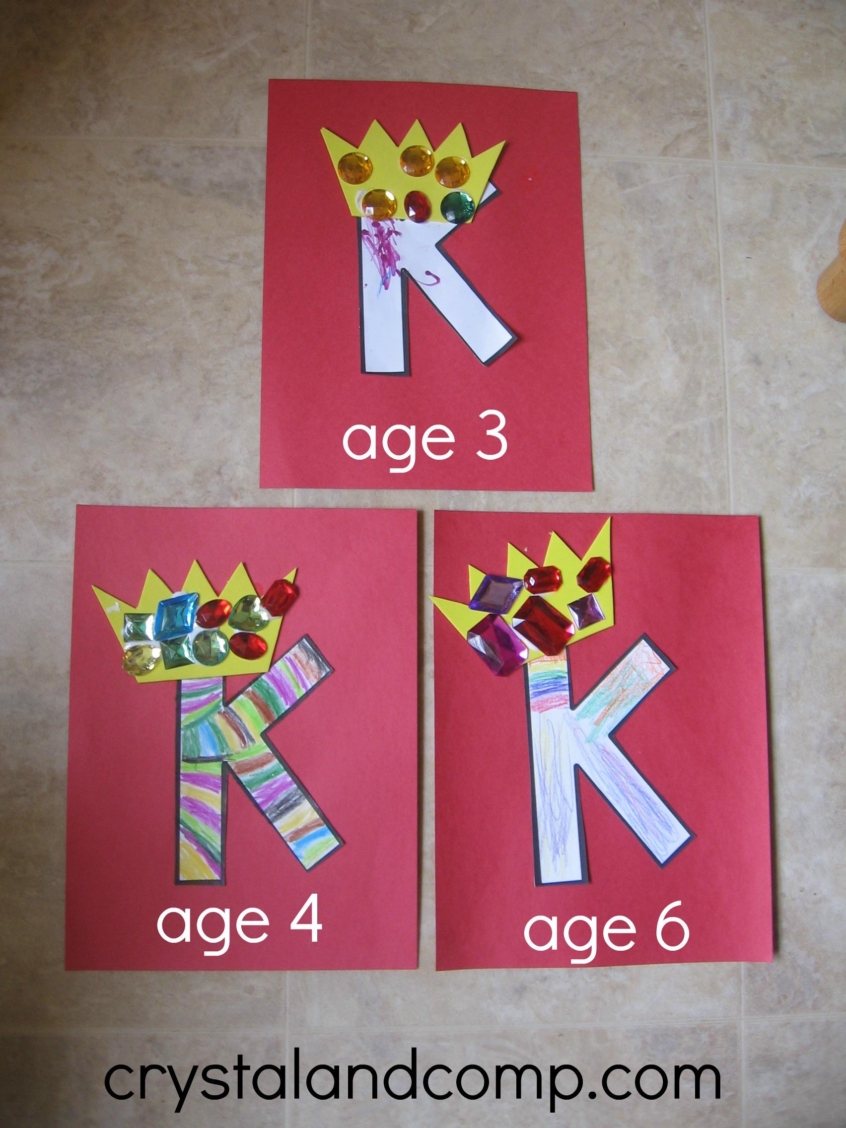 letter k preschool craft letter k preschool