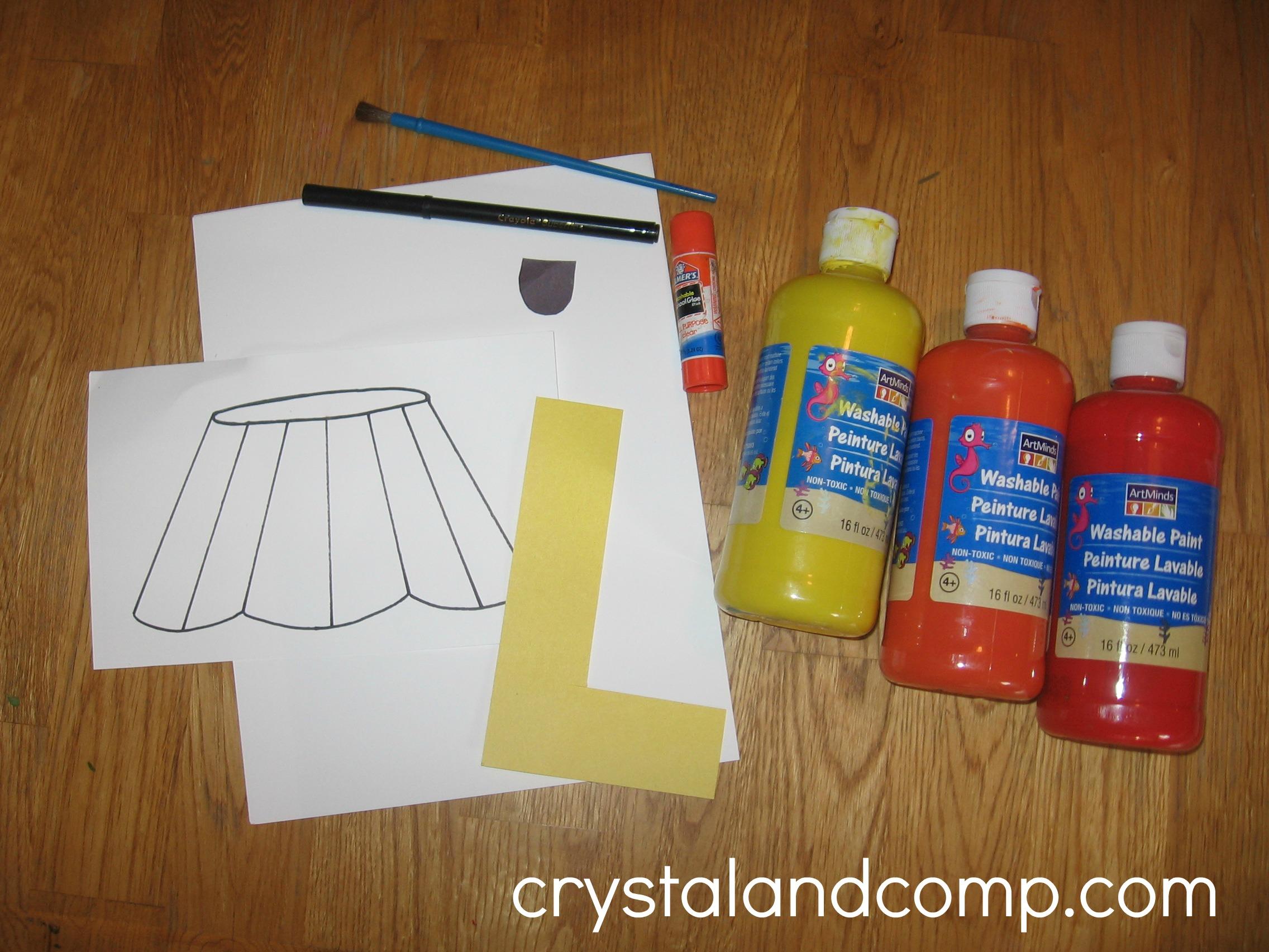 Light Bulb Crafts For Preschoolers