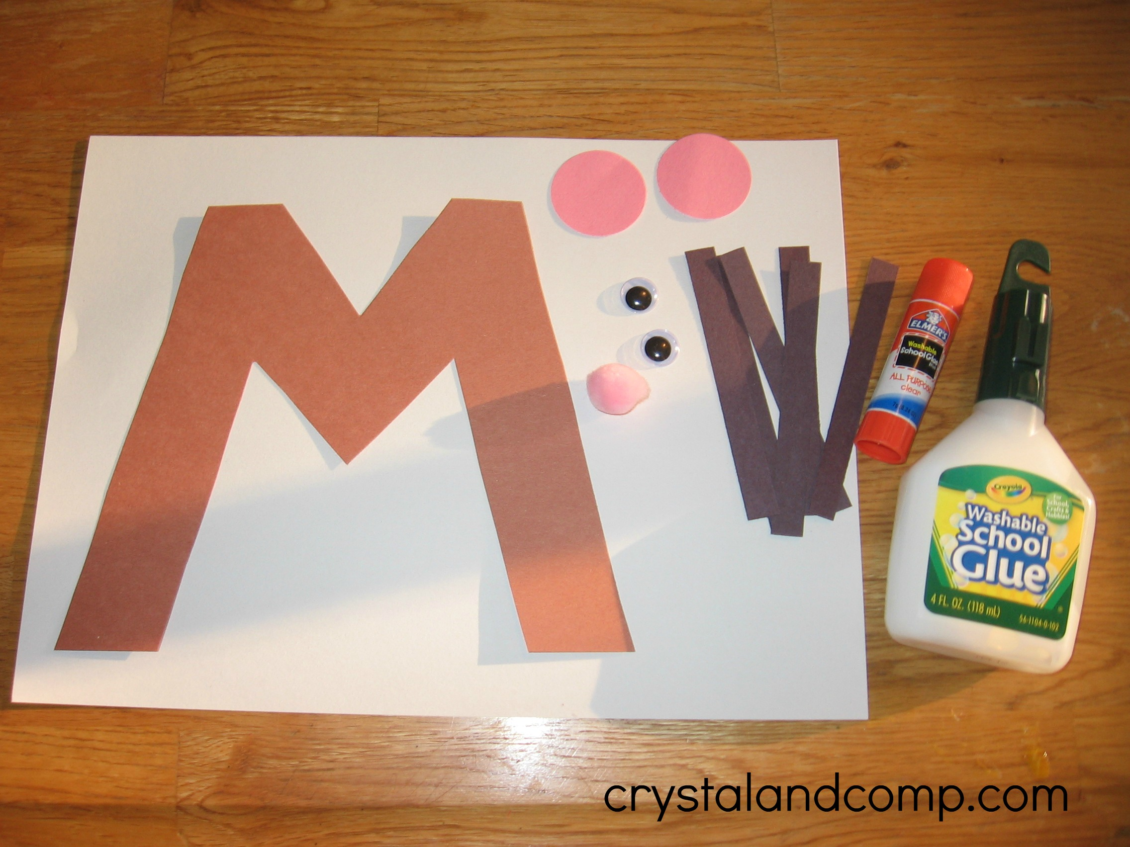 letter m crafts alphabet activities for preschoolers m is for mouse 22905