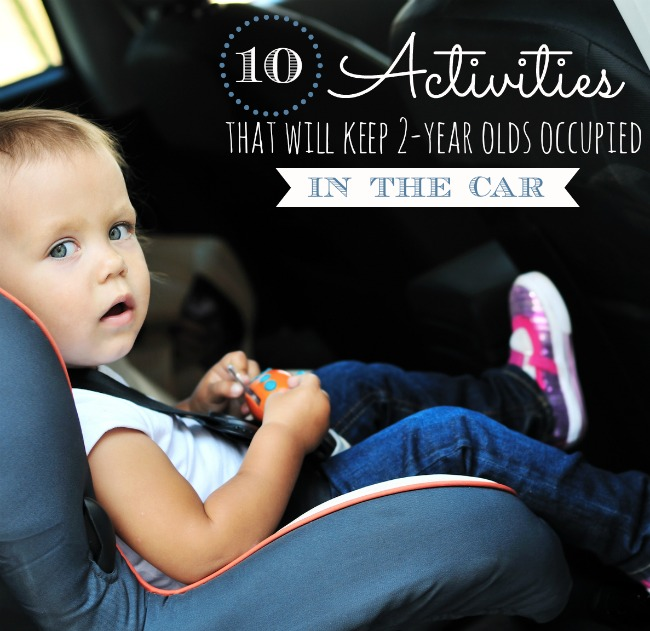 activities for 2-year-olds in the car